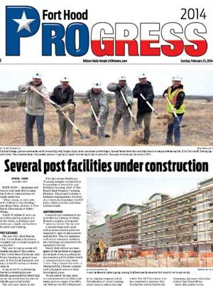 Progress 2014 - Fort Hood brought to you by The Killeen Daily Herald.