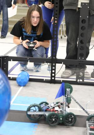 Killeen Toss Up Robotics Competition