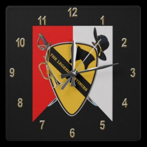 1st Cavalry Division wall clock: $25