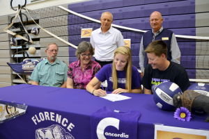 Rebecca Horton signing