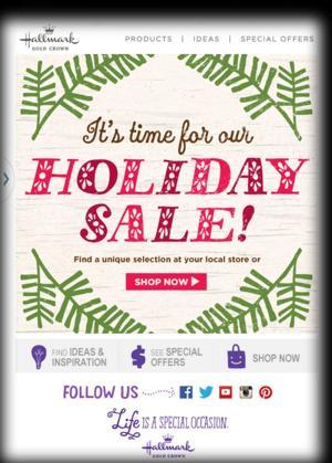 Hallmark Store Sale!