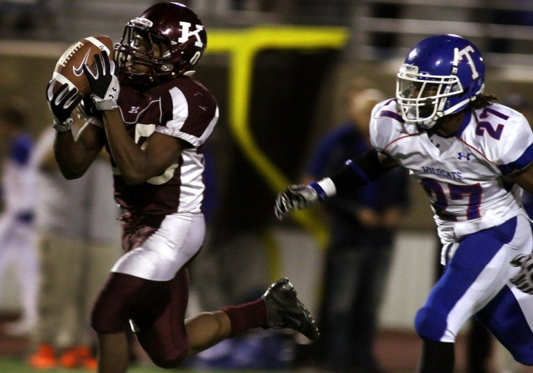 Football: Killeen v. Temple 11.08.12