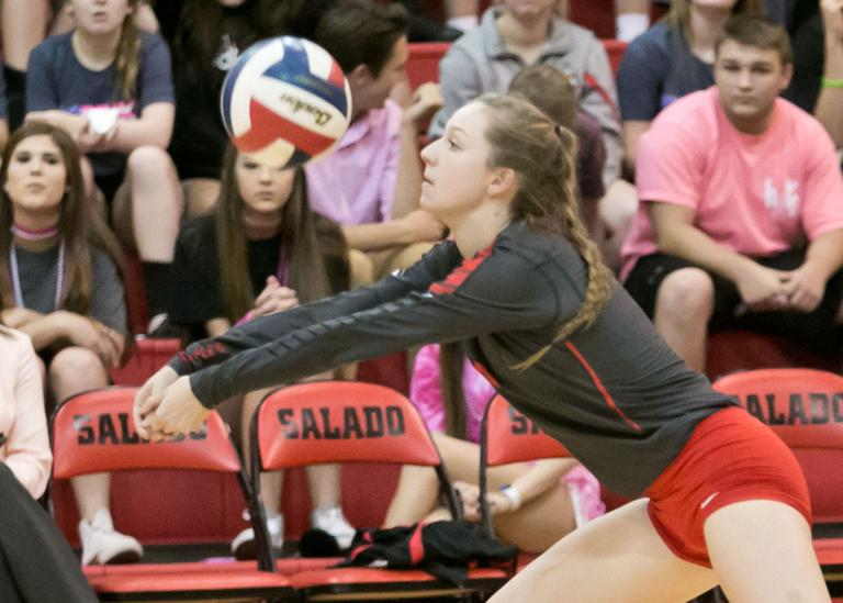 Salado powers past Burnet in 19-4A volleyball showdown