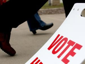 Last campaign effort for candidates, issues
