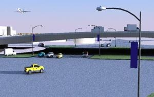 U.S. 190-Rosewood Overpass project