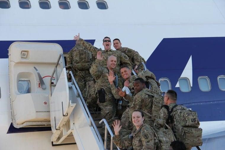 Task Force ODIN deploys to Afghanistan
