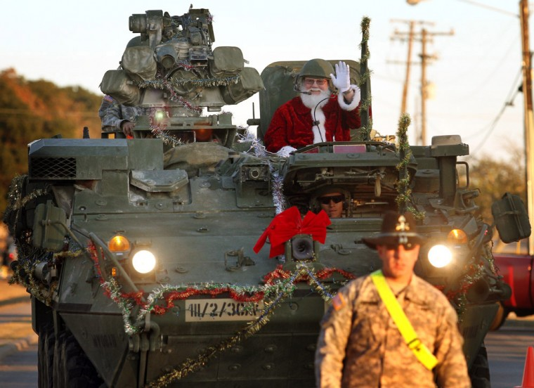 Homefront: Santa on a Stryker