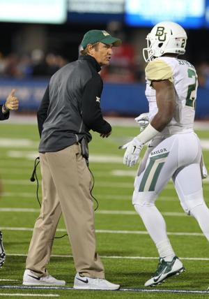 Art Briles and Johnny Jefferson