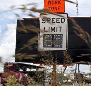 Traffic speed reader
