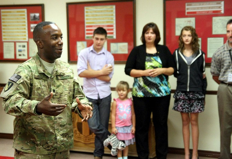 Conference Room Dedicated to Soldier Who Died From Brain Tumor