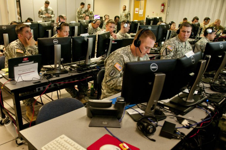 1st Cavalry Division staff conducts command post exercise