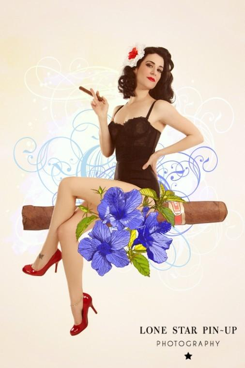 Lone Star Pin-up