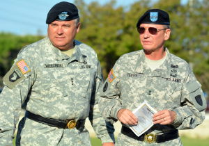 Fort Hood Retirement Ceremony