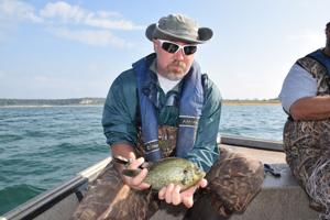 Belton Lake fish
