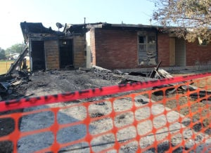 Fort Hood Burned Home
