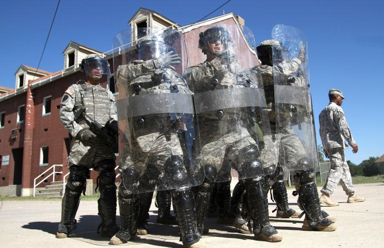 2-38 Riot Training