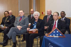 Local veterans honored with congressional commendation