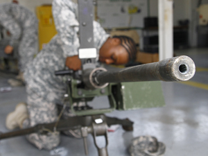 Weapons test challenges Rail Gunners