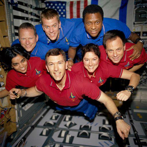 Columbia crew
