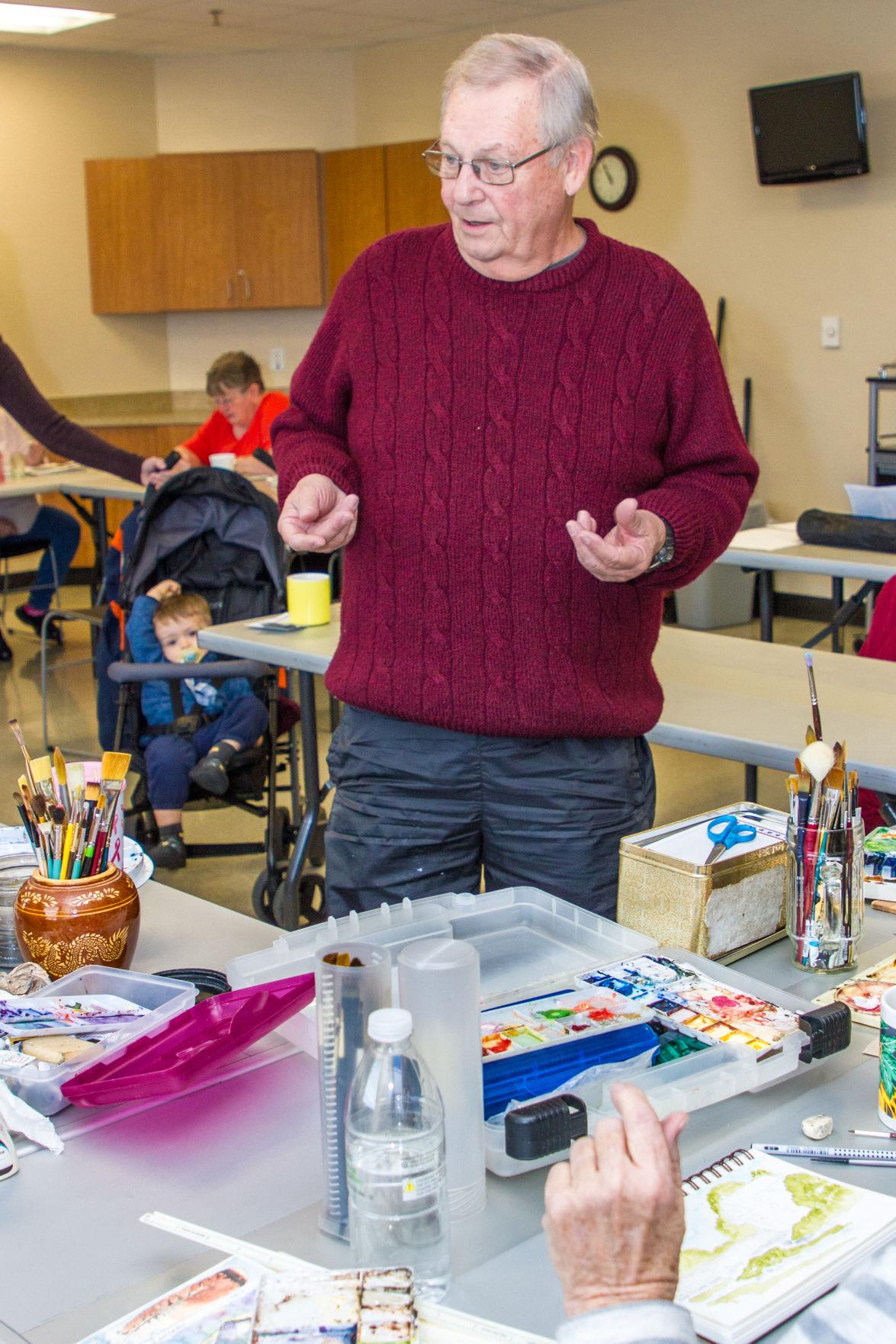 Harker Heights Watercolor Class