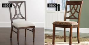 Sitting pretty: Chic chairs to wow your dinner guests
