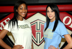 Heights volleyball duo sign with DI schools