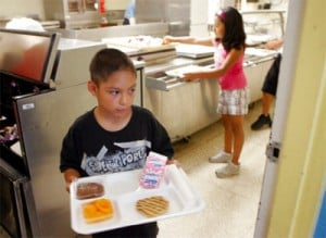 Giving kids the opportunity to have a nutritious meal