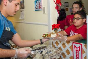 Soup Kitchen Christmas Dinner