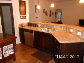 This 2066 sqft home is gorgeous! Stained concrete floors throughout