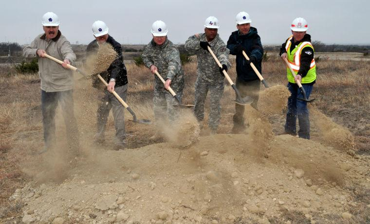 Fort Hood groundbreaking