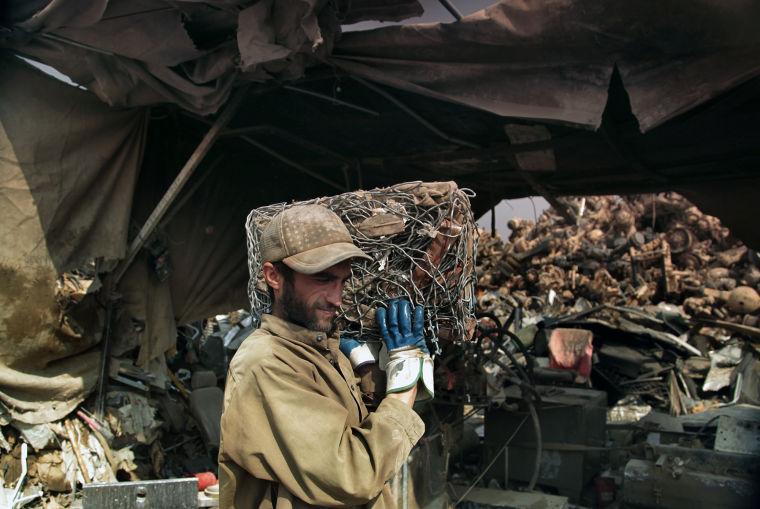 Afghan scrap