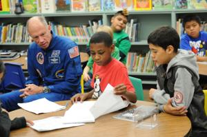 Astronaut at West Ward