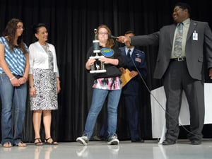 Two fifth-graders awarded for excellence