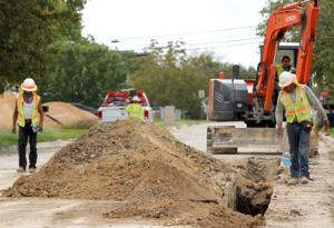 Copperas Cove Alleen Street Construction