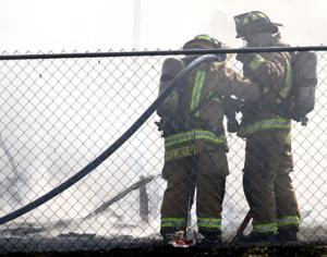 Fire Guts Mobile Home in Killeen