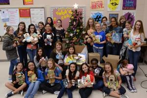 Choir collects items