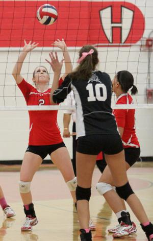 Belton vs Harker Heights Volleyball