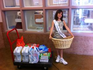 <p>Instead of getting gifts for her 10th birthday, Johnily Considine, of Nolanville, asked her friends and family to bring donations of cat food, dog food and cat litter to her birthday party. She took these donations to the animal shelter in Harker Heights.</p>