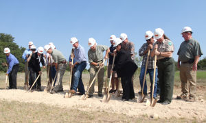 Mother Neff State Park Groundbreaking