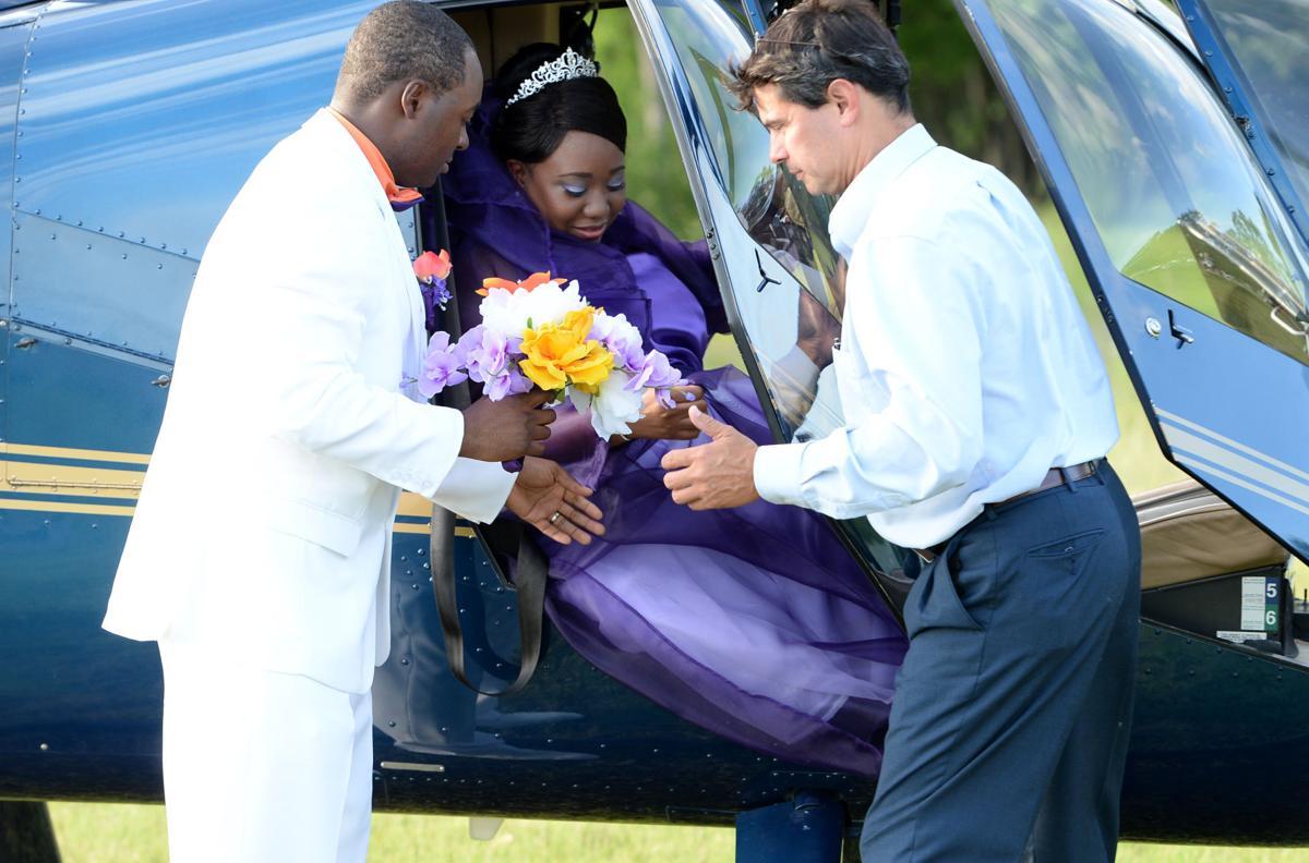 Davis-Ealy Helicopter Wedding