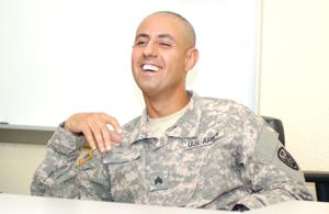 Fort Hood soldier from Iraq