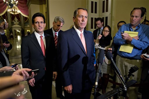 Eric Cantor, John Boehner, Kevin McCarthy