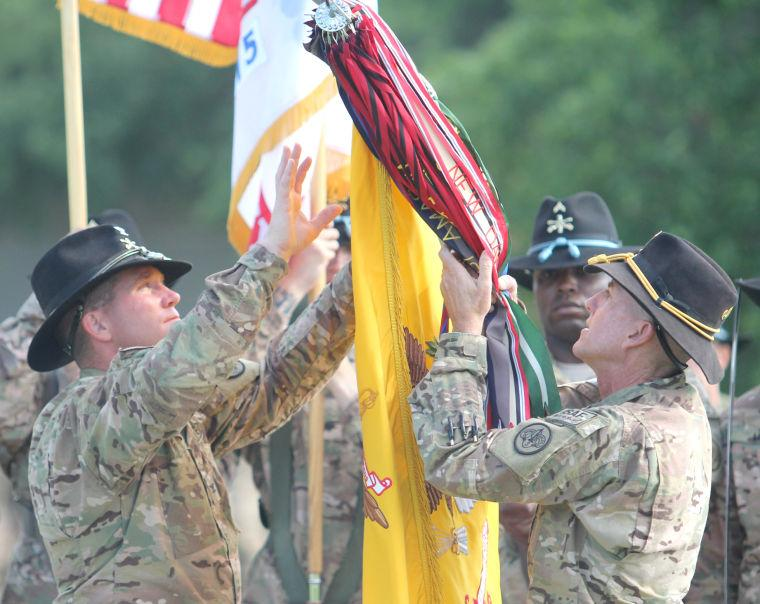 3rd Cavalry Regiment Colors Casing Ceremony