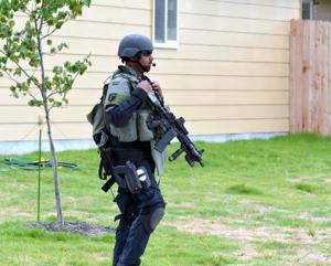 SWAT standoff