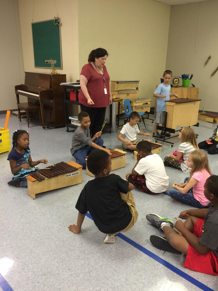 Hettie Halstead Elementary boosting academics through music
