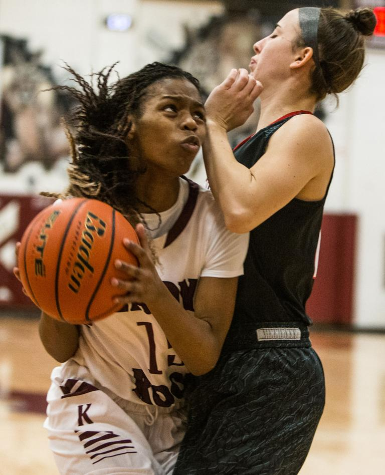 BASKETBALL: No. 24 Bowie uses 3-point shooting to upend No. 12 Lady Roos 57-52