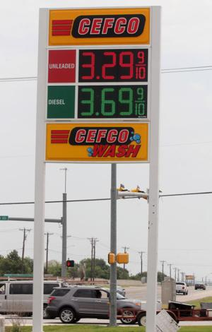 Gas prices decrease
