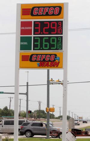Gas prices decrease