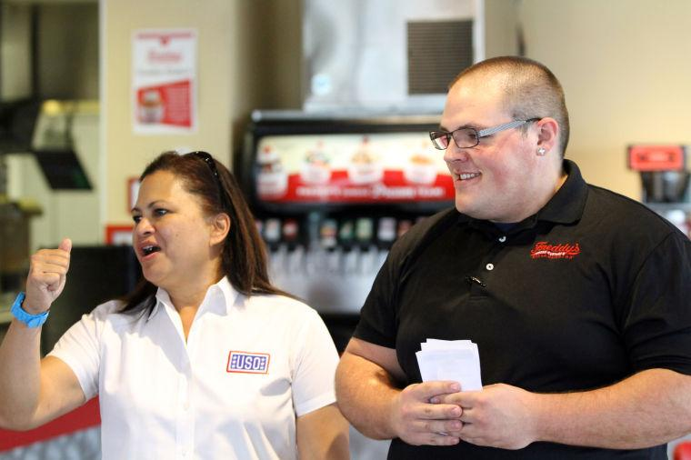 Freddy's creates sundae for USO