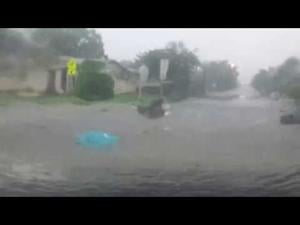 Flash flood in Killeen